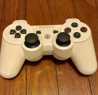 White Sony PS3 Controller