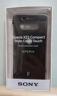 SONY Xperia XZ2 compact 手機殼 Style Cover Touch