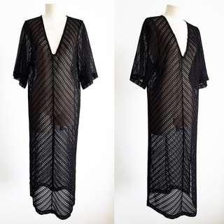 sheer lace dress *size M