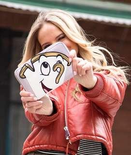 Danielle Nicole x Disney chip wallet 美女與野獸 阿奇皮夾