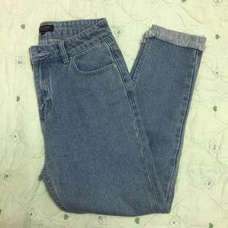 Zalora mom/girlfriend jeans