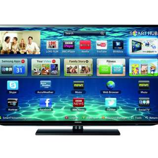 Trade in of old TV welcome. Samsung 46 inches UA46H5303 Smart (Warranty expired)