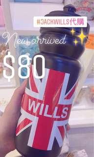 Jackwills water bottle