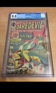 Daredevil 2 CGC 5.5 KEY ISSUE
