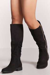 Women's Faux Suede Tall Boots