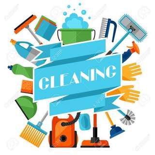 ARE YOU TIRED OF CLEANING?