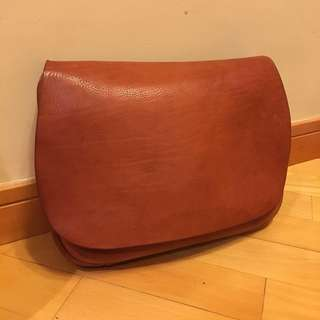 Lianca Central Leather Shoulder Bag Vintage
