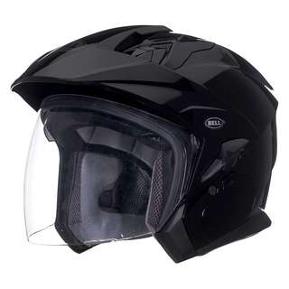 Bell Mag 9 Mag-9 SIZE XX-LARGE ONLY Gloss Black Motorcycle Motorbike Open Face Half Face Helmet