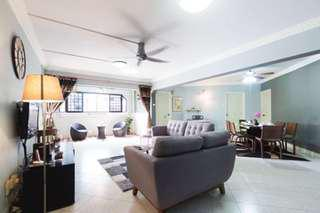 LOW CASH + BELOW VALUE 5 room,  MRT