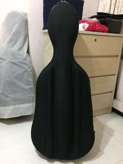 Used cello semi-hard case