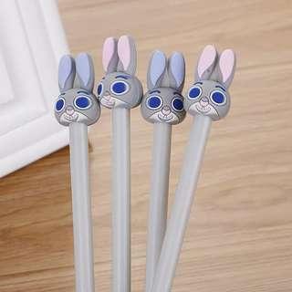 [Instock] Zootopia Rabbit Gel Ink Pen