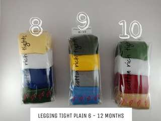 PLAIN BABY LEGGING 4in1