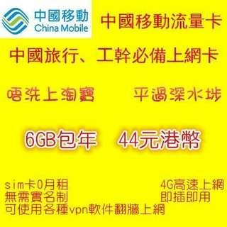 中港SIM Card