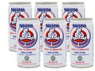 Bear Brand (susu beruang steril)