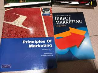 Principles Of Marketing 14th edition & Intro to Direct Marketing