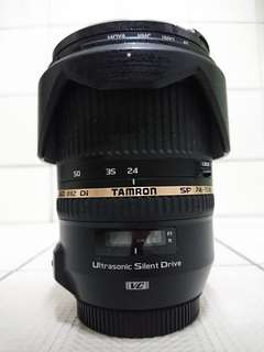 Used Tamron SP 24-70mm DI VC USD V2 Canon Mount