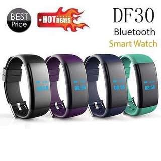 DF30 Smart Bracelet watch Bluetooth 4.0 Heart Rate Blood Pressure Oxygen Monitor Wristband IP68 Waterproof Smartband