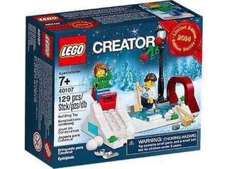 Lego winter scene
