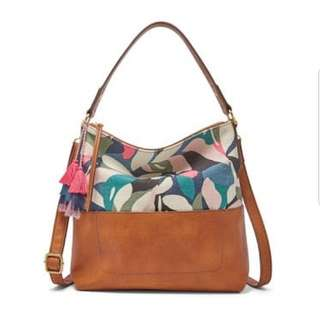 Fossil AMELIA HOBO FLORAL