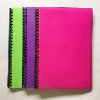 SET: SEAGULL 8x13 Clear Folder
