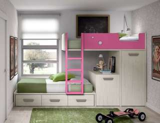 Space Saving Bunk Bed