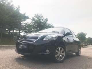 Toyota Vios 1.5cc E(A)2011🎉Reverse Camera