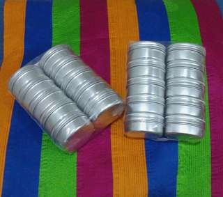 20pcs of 40g Aluminum container