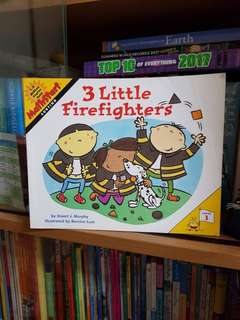 3 Little Firefighters (Math Reading Book)