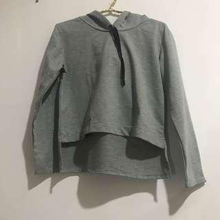 Hoodie shirt grey