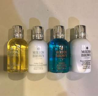 Molton brown travel kit (take all)