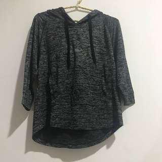 Grey heather hoodie