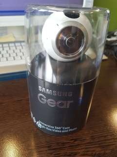 100%全新原裝Samsung Gear 360 SM-C200 360° 全景攝影機