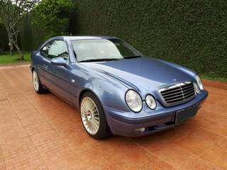 Mercedes benz clk320 w208