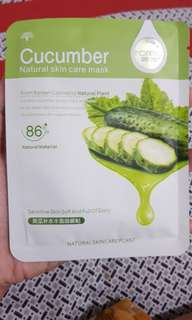 Rorec sheet mask cucumber