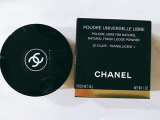 🚚 Chanel Natural Finish Loose Powder 20-Clair Translucent 1