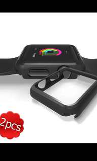 Black frame protection  Apple watch series 1, 38mm (1  piece)