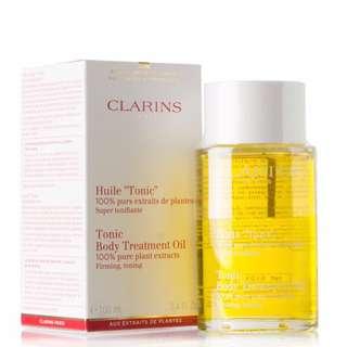 🚚 Authentic Clarins Tonic Body Treatment Oil 100ml exp.2021