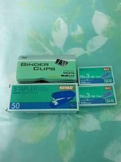 Stapler & Binder Clip