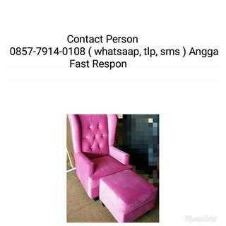 Sofa Wincer + Puff Bisa di cicil