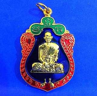🚚 Lp Paew Longya Medallion Amulet