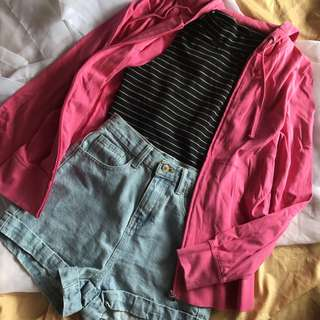 S-M Giordano Pink Jacket