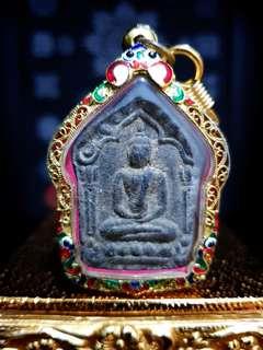 Phra Khun Paen Prai Guman Pim Yai LP Tim of Wat Lahanrai (Gold Takrut)