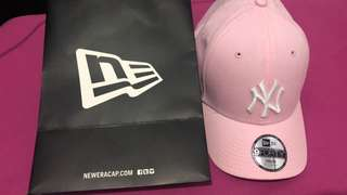 Caps New Era Original  Pink