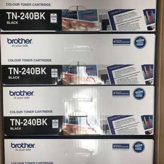 Brother TN240BK TN-240BK black toner 碳粉