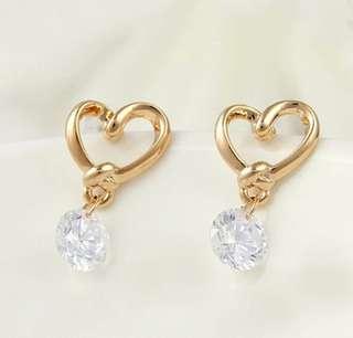 Earring I love diamond