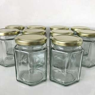 Hexagonal Jar 195 ml