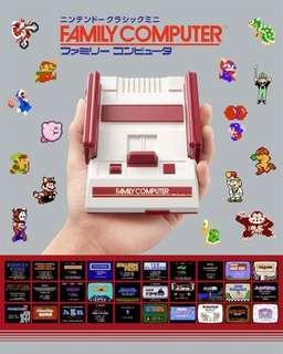 Mini Family Computer - Famicom Mini | NES Classic Japan | Family Computer Mini
