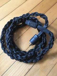 電源線 美頭 DIY 6 條銅線織成 10 尺長