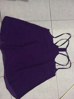 Tank top purple