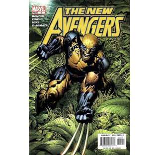 THE NEW AVENGERS #5 (2005) David Finch - Guest Artist STGCC 2018!